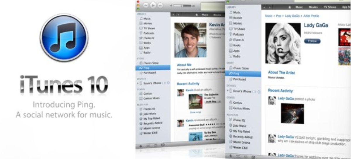 iTunes 10 Unveiled