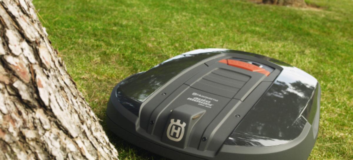 Husqvarna Robot Lawnmower Controllable Via iPhone