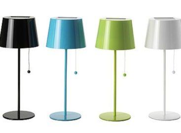 Solvinden Solar Powered Table Lamp