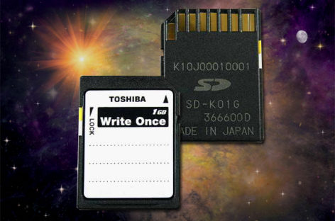 Toshiba Releases SD Card that Never Erases