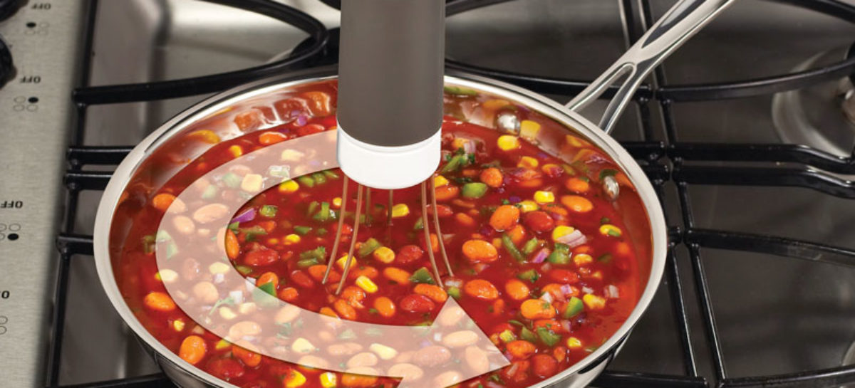Robostir Does What is Seen on TV: Stirring Soups