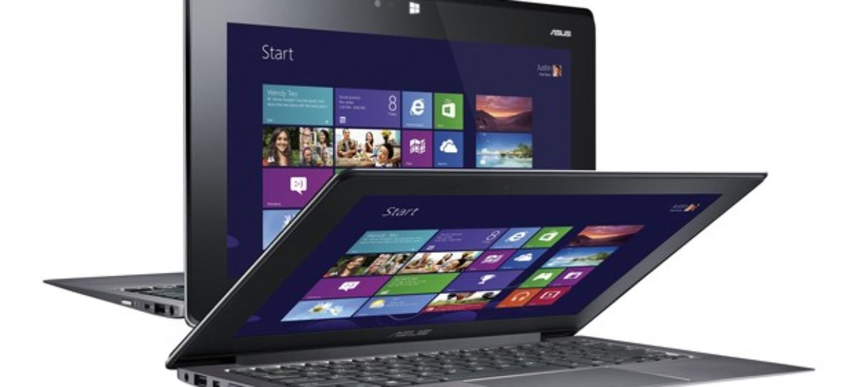 Asus Taichi Laptops Come with Double-Sided Displays