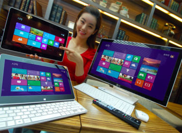 LG Introduces Windows 8 Slider Laptop and All-In-One PC