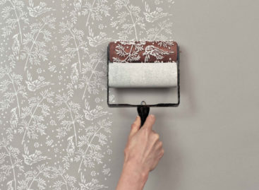 Patterned Paint Roller