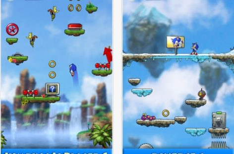 Sonic Jump iOS Game App