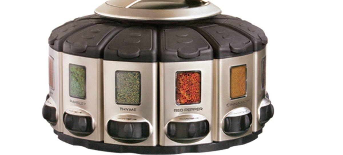 KitchenArt Pro Auto-Measure Spice Carousel