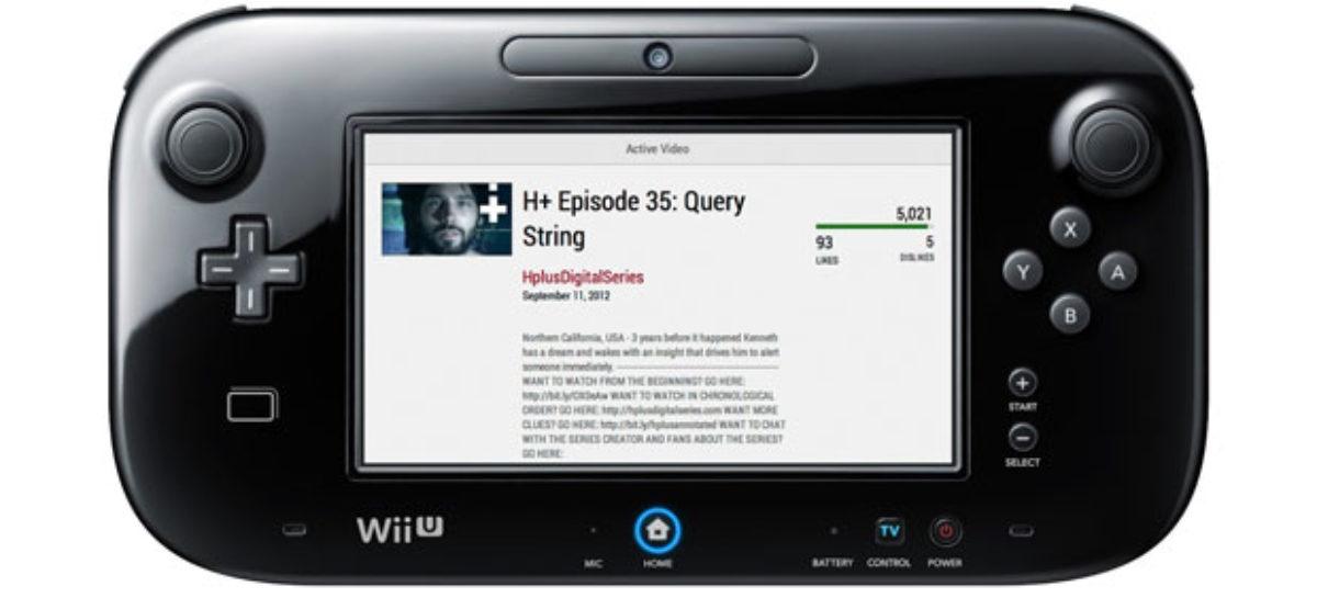 Nintendo Wii U Gets a YouTube App