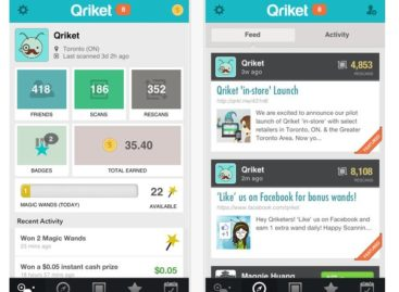 Qriket: Where QR Code Scanning Pays Off in Cash