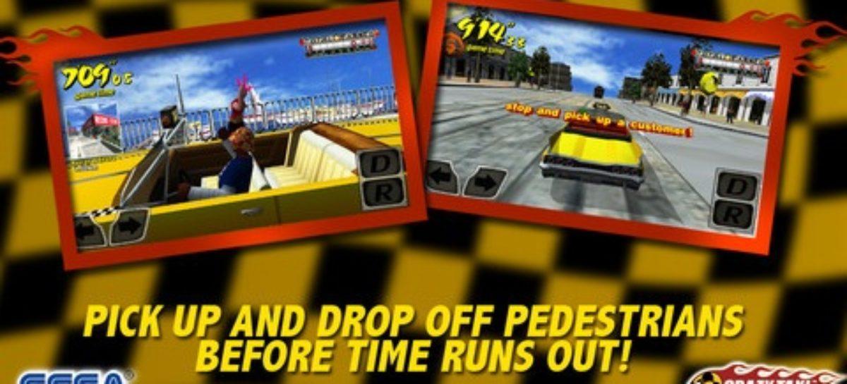 Crazy Taxi iOS Game App