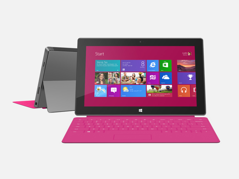 Microsoft reports about weak Surface sales.