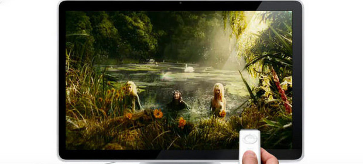 Apple Allegedly Testing TV Set Prototypes