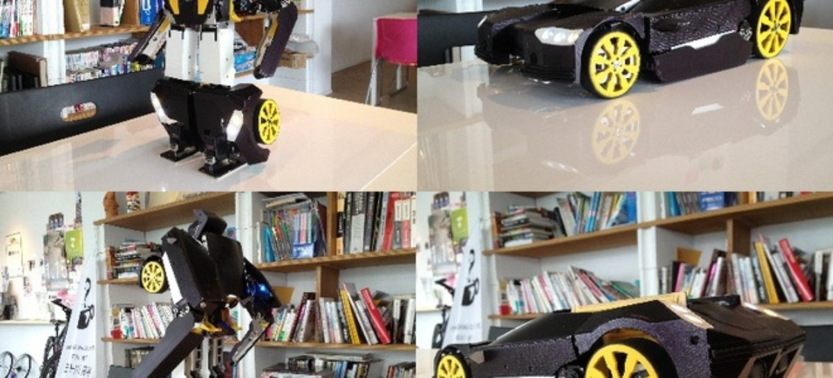 Brave Robotics Transform Robot