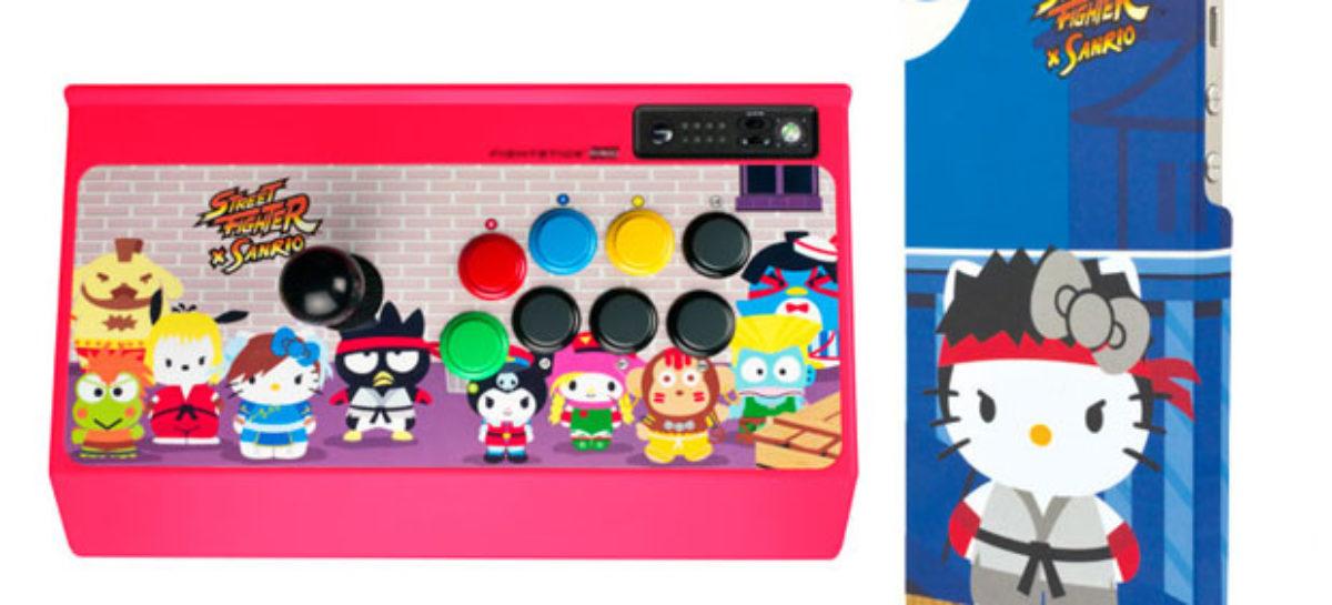 Street Fighter x Sanrio Merchandise Unveiled