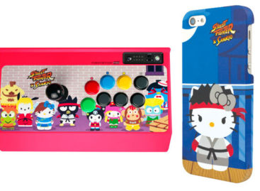 Street Fighter x Sanrio Merchandise Unveiled