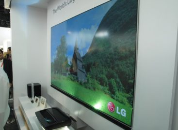 LG HECTO Laser TV Creates 100-Inch Viewing Display