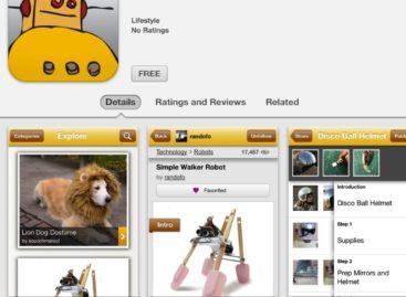 Instructables iOS App