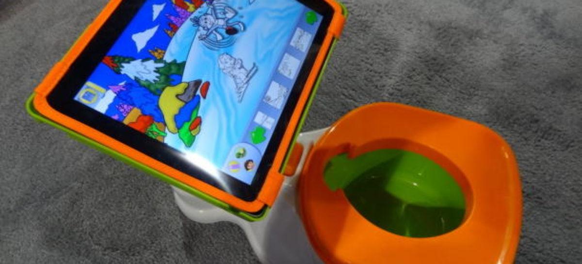 iPotty: Toilet Training with iPad