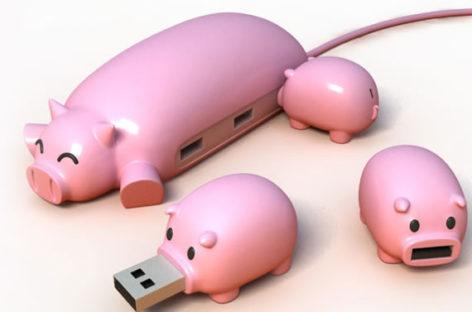 Pig Buddies USB Hub