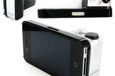 Snappgrip Case Converts Smartphones Into Pseudo Digicams