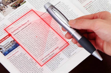 Pen Sized Scanner