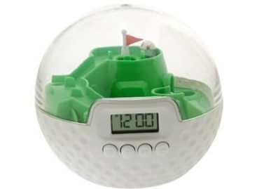 Sport Time Golf Game Alarm Clock