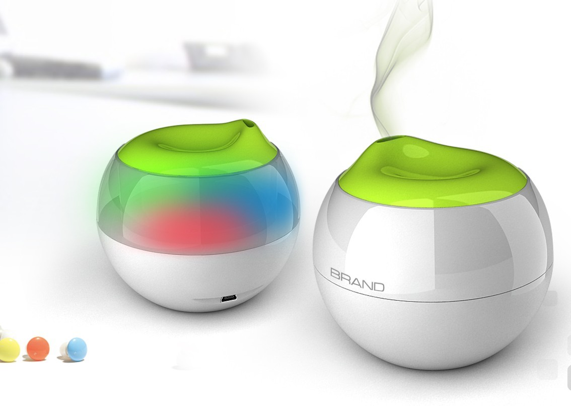 USB Powered Personal Humidifier Gadget.com #89BA11