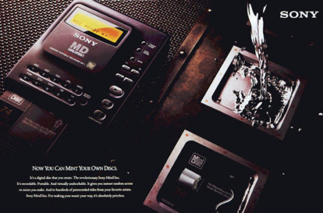 Sony Rolls Out Last MiniDisc Players in March