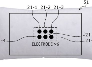 Sony Applies for Patent Putting Electrodes in Pillow