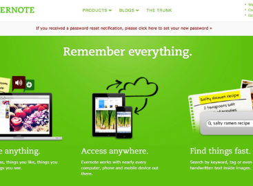 Evernote Resets All Users' Passwords