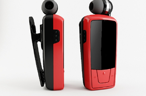 Retractable Bluetooth Headset