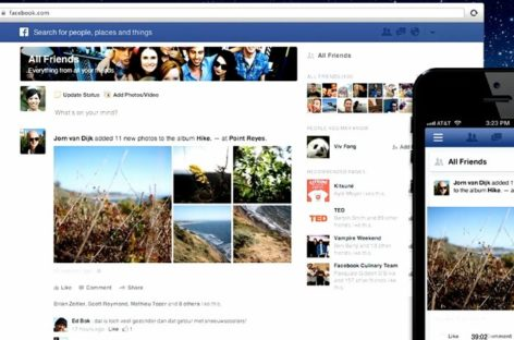 """Facebook's New """"News Feed"""" Unveiled"""