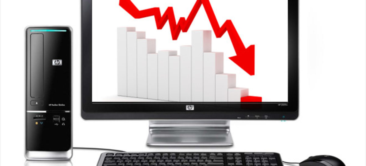 Global PC Shipments Falling Faster than Usual