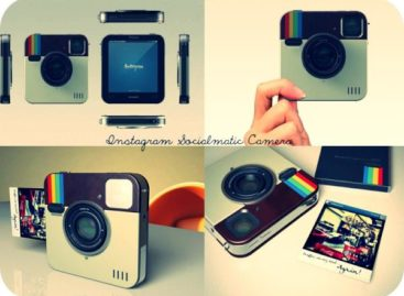 Socialmatic Instagram Camera Gets Polariod Branding