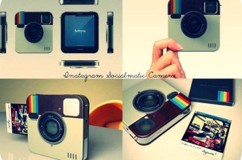 Socialmatic Instagram Camera Gets Polariod Branding
