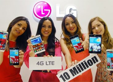 LG Reports 10 Million LTE Smartphones Sold Globally