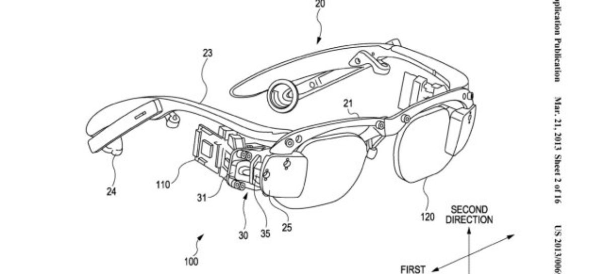 Sony Submits Patent for Google Glass Rival