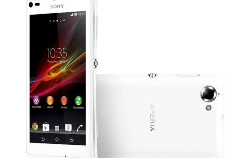 Sony Launches Xperia L Smartphone