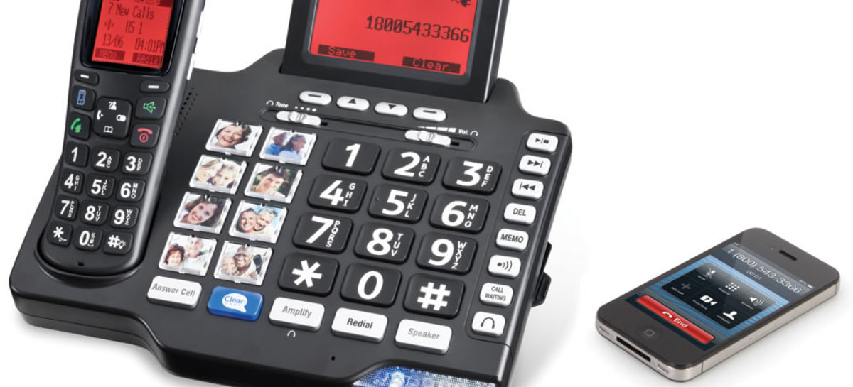 Cell Phone Call Clarifying Telephone