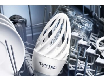 Disinfecting UV-C Dishwasher Light