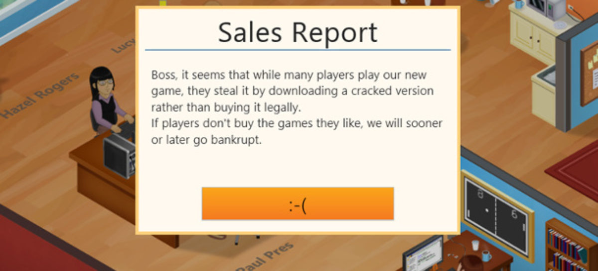 Pirated Game Dev Tycoon Shows How Piracy Feels Like