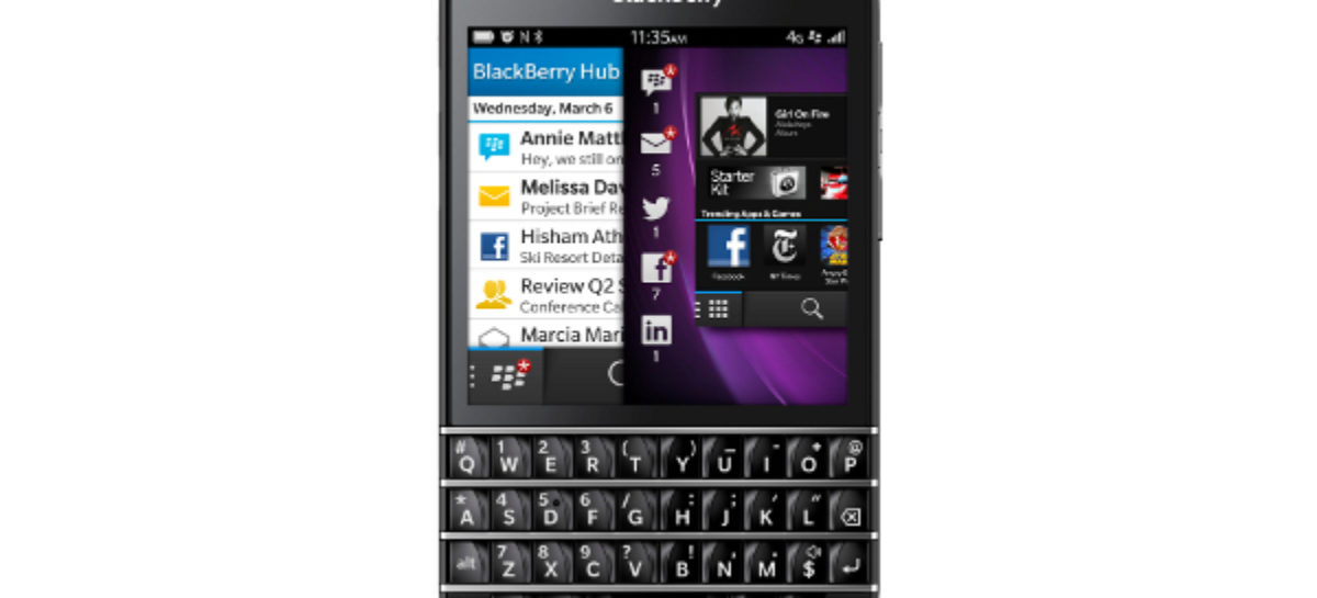 BlackBerry Q10 Now Available for Pre-Order in UK