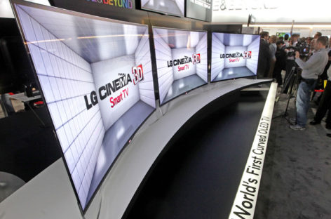 LG to Offer Curved OLED TV Sets in South Korea