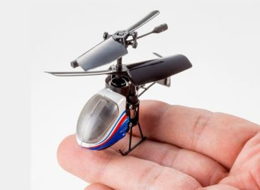 Nano Falcon- World's Smallest IR Control Helicopter