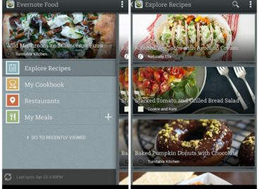 Evernote Food Adds Recipe Search in Update