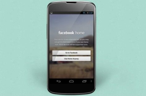 Facebook Home Now Runs on Unsupported Android Devices