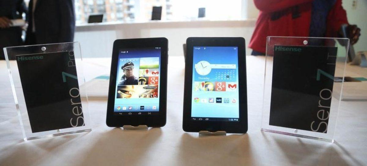 Two Hisense Sero 7 Tablets Unveiled