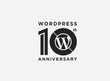 WordPress Celebrates 10th Birthday