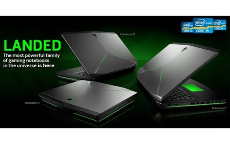 Alienware Launches Upgraded Lineup of Gaming Laptops