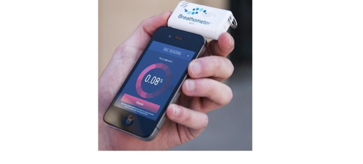 Breathometer for Smartphones