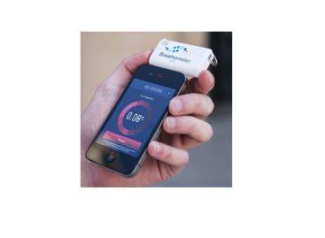 Breathometer for Smartphones